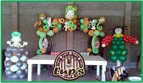 chavo 8 decoraciones de globos