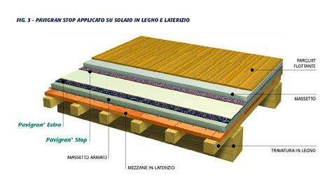 tappeto isolante acustico materassino anticalpestio maxitalia pavigran