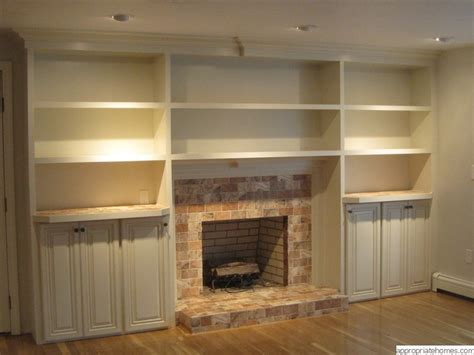 building a built in bookcase built in bookshelves plans around fireplace woodworktips