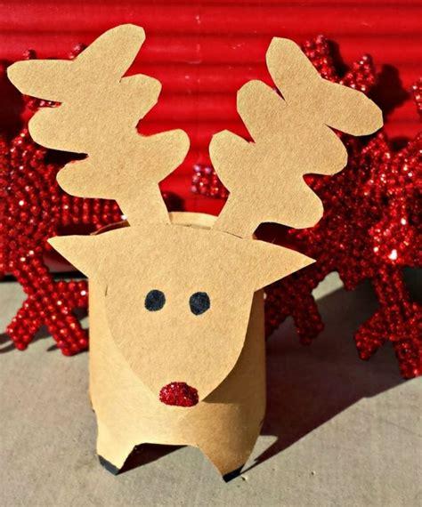 basteln mit klopapierrollen weihnachten erstaunliche diy