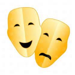 Comedy Tragedy Masks Clip Art Free