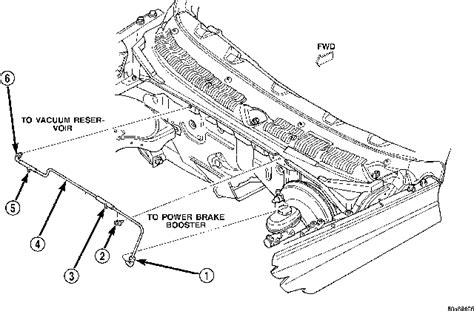 1999 Dodge Dakotum Vacuum Diagram by Drawing Of The Vacuum System Vac Tank Check Valve And