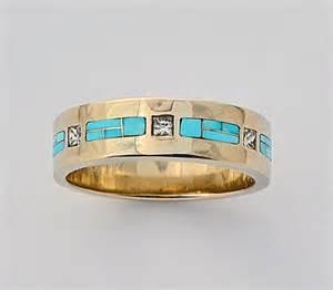 mens turquoise wedding rings wedding engagement rings southwest wedding rings turquoise wedding rings inlay wedding rings