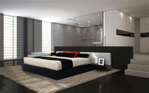 Modern Platform Bed Frames And Style  Traba Homes