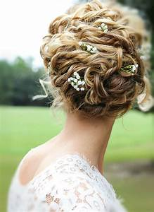 12 Bridal Hairstyles For Girls With Curls Houston