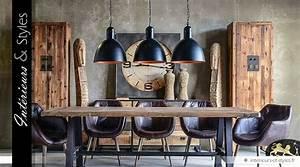 Suspension Style Industriel : grande suspension de style industriel noir et cuivre 40 cm int rieurs styles ~ Teatrodelosmanantiales.com Idées de Décoration