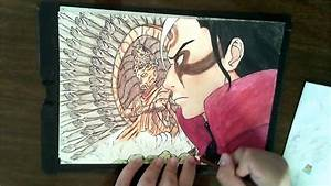 Drawing Hashirama Senju
