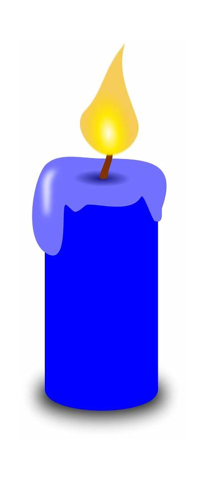 Candle Clip Candles Clipart Birthday Cartoon Transparent