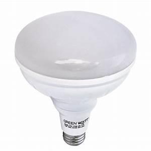 Recessed lighting green watt led br k flood