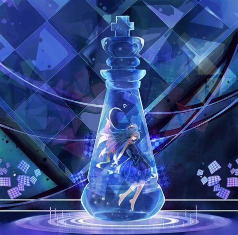 No Game No Life, Shiro (no Game No Life), Blue, Chess