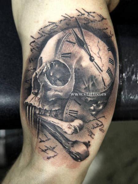 arm totenkopf tattoo von  tattoos