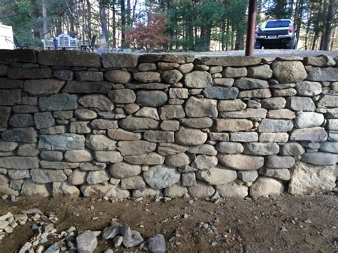 pizza oven fireplace drystack retaining wall lincoln ma concord