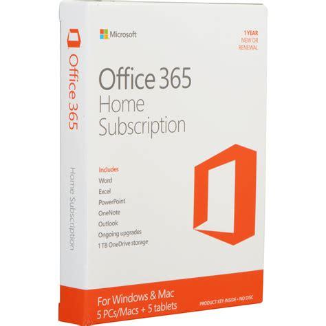 Microsoft Office 365 Home Kit B&h Photo Video