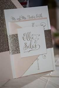 Beautiful affordable letterpress wedding invitations for Inexpensive glitter wedding invitations
