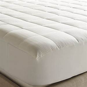 Luxury down mattress pad queen contemporary mattress for Best down mattress pad