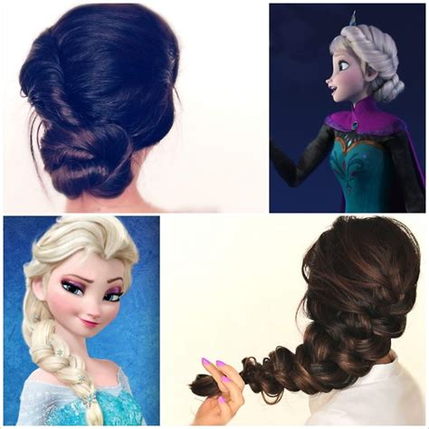 spectacular disney frozen  inspired hairstyle tutorials