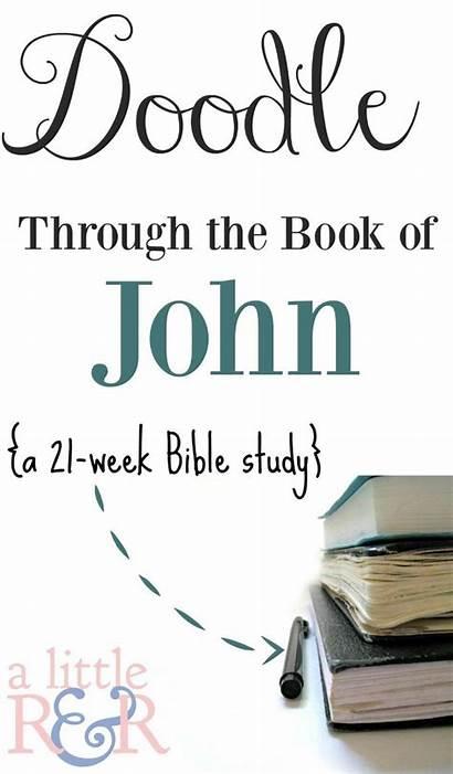 Bible Study John Through Doodle Journaling Scripture
