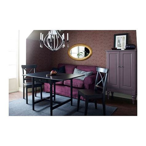 Ikea Tisch Ingatorp by Ingatorp Klapptisch Schwarzbraun Die K 252 Che Esszimmer