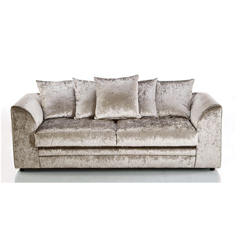 velvet sectional sofa crushed velvet furniture sofas beds chairs cushions