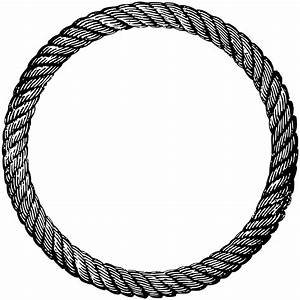 Best Circle Clipart Rope Drawing
