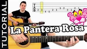 como tocar LA PANTERA ROSA en guitarra FACIL Principiantes y novatos acústica o criolla tutorial