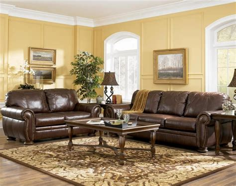 brown leather sofa decorating ideas living room decor ideas with brown leather sofa curtain