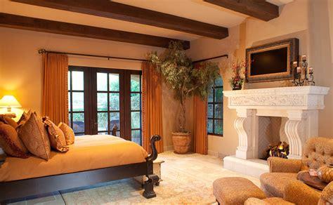 spanish villa traditional bedroom phoenix