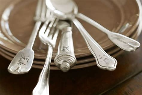 flatware antique bestcovery potterybarn silver
