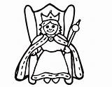 Queen Coloring Pages Queens Kings King Drawing Clipart Crown Evil Chrysalis Easy Printable Draw Cartoon Clipartmag Summer Getcolorings Adults Panda sketch template