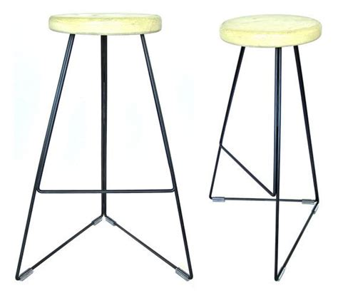 bar stool industrial industrial concrete steel coleman bar stool by