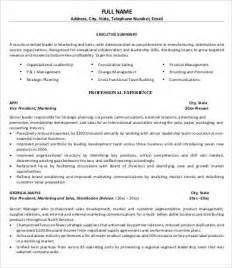 product manager resume product manager resume 9 free sle exle format