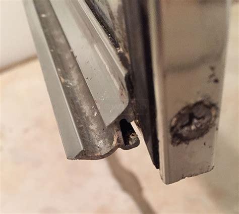 shower door sweep aquaglass replacement shower door sweep swisco