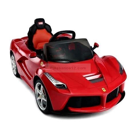 voiture electrique enfant ferrari auto moto