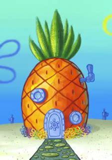 spongebob pineapple house the strange pineapple house in the mist spongebob as