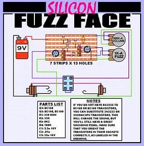 Fuzz Face On Stripboard