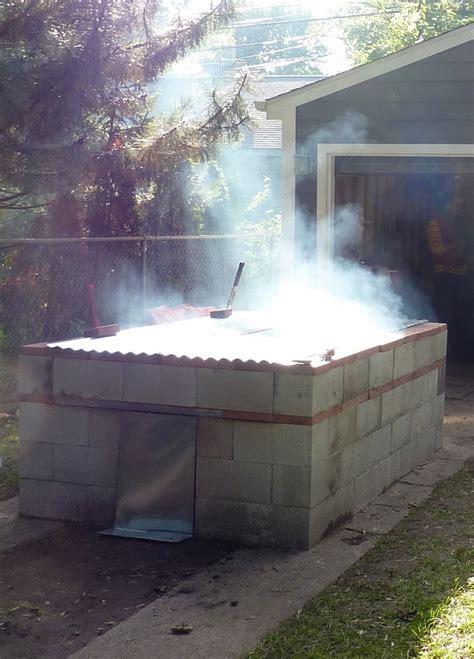 build  bbq pit home design garden