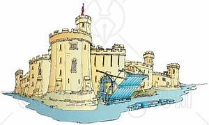 On the castle moat clipart - Clipground