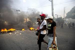 Haitian government suspends fuel price hike amid ...