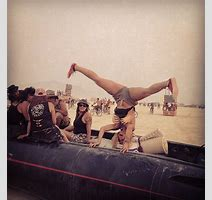Blondtron Had More Fun At Burning Man Than Anyone In The Entire World Thump