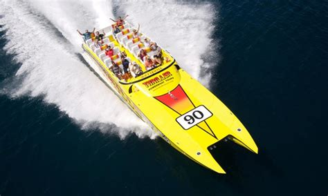 Boat Tour Groupon by Thriller Speedboat Tours Groupon