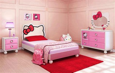 Hello Kitty Bedroom Set Hello Kitty Bedroom Idea For