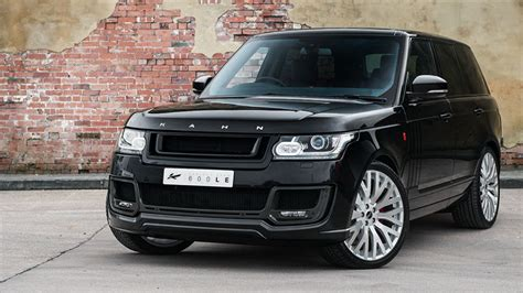 land rover kahn kahn range rover vogue signature edition