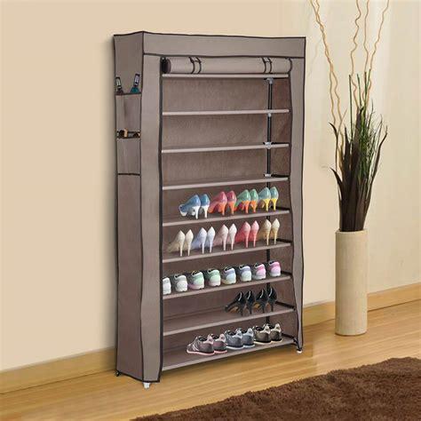 Closet Shoe Racks by Yescomusa 10 Tier Shoe Rack Shelf Closet 45 Pair With