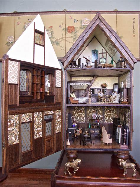 happy  worlds retrofit  kit tudor dollhouse part  finished  barton tudor