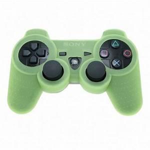 SAVE $3.71 - GREEN GLOW in DARK Playstation 3 PS3 Wireless ...