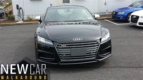 Audi Tts Coupe Modification by 2017 Audi Tts Coupe Walkaround In Depth