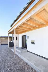 Vordach Hauseingang Holz : architektur detail vordach hauseingang holz einfamilienhaus schneider von baufritz ~ Sanjose-hotels-ca.com Haus und Dekorationen