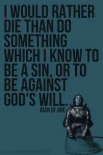 joan  arc quotes quotesgram