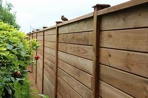 Cloture En Bois : cl ture bois abri bois pergolas ~ Premium-room.com Idées de Décoration