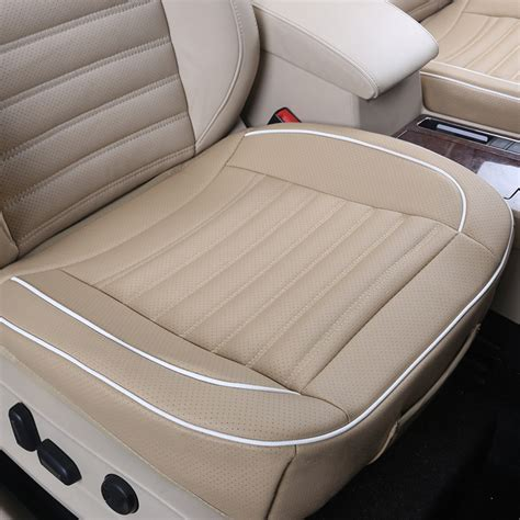pu leather breathable soft car seat cushion seat cover